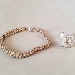Jewelry - Handmade Moroccan Silver Bracelet & Fashion Ring